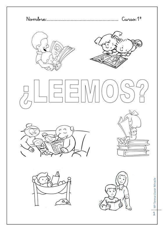 """La enseñanza y el aprendizaje de la lectura, como manifestaciones del Derecho a  la Educación, requieren  materiales específicos. Agracemos la participación de la Profesora Mª Teresa Lluzar (España) en el Poyecto """"Leer es un Derecho"""" a través de este material del que es autora."""
