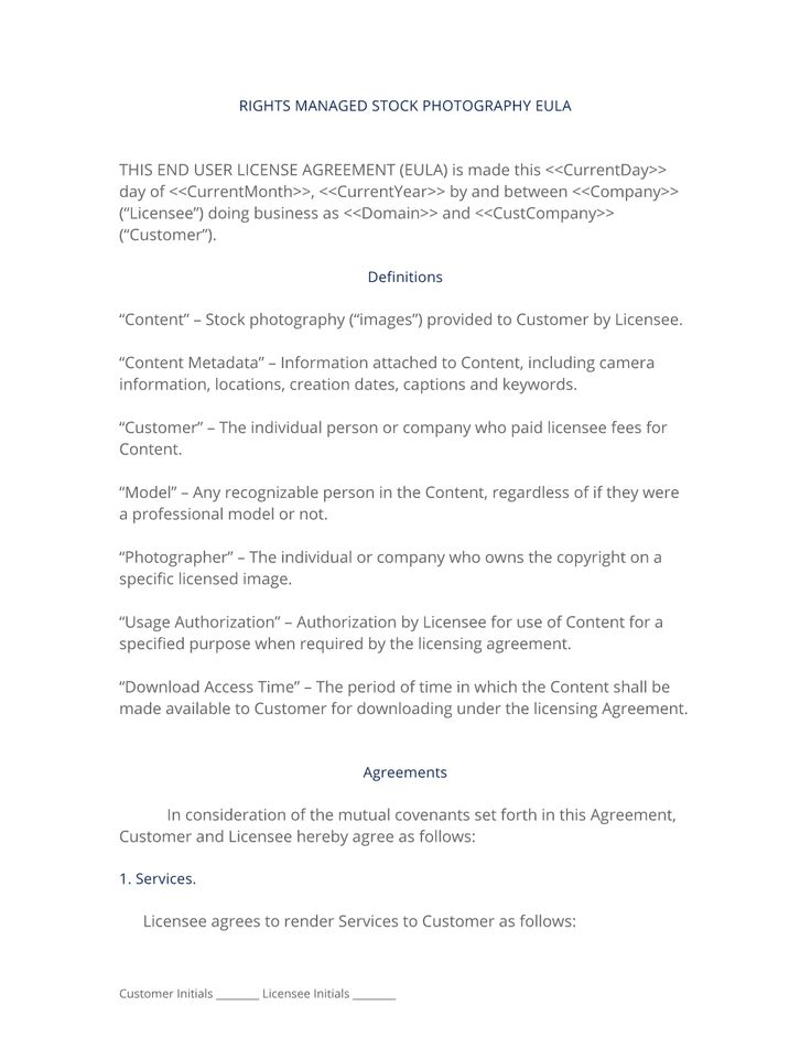 28 best Photography Service\/Product Contracts images on Pinterest - software license agreement template