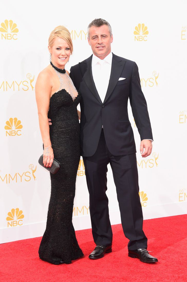 Pin for Later: The Small Screen's Hottest Stars on the Emmys Red Carpet! Matt LeBlanc and Andrea Anders