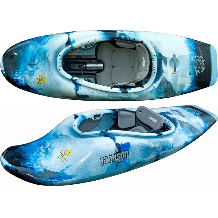 Jackson Kayak Super Fun Kayak - Whitewater Kayaks - Rock/Creek