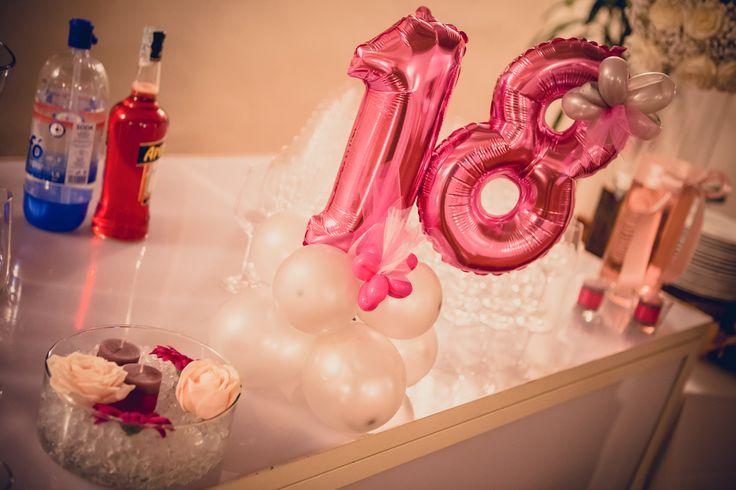 Palloncino festa dei 18 anni