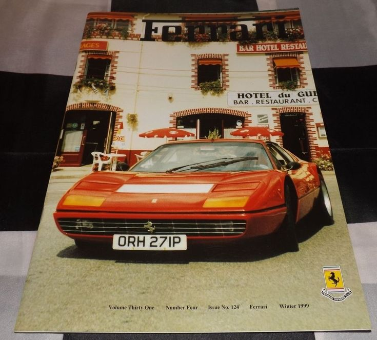 FERRARI OWNERS CLUB MAGAZINE WINTER 1999 NO 124 250 GT GTO SWB PININFARINA PININ