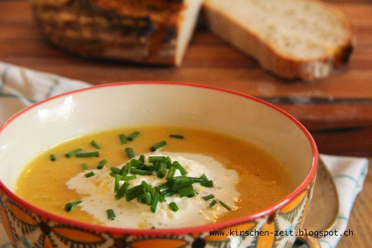 Karotten-Pastinaken-Suppe (Kirschenzeit)