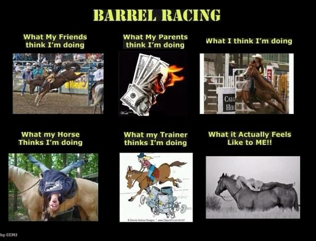 Barrel Racing Interpretations - 1