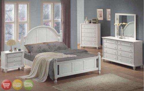 White Wood Bedroom Furniture Popular Of White Bedroom Sets Full