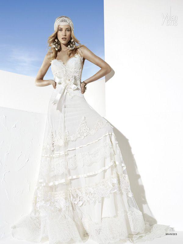 manises wedding dressyolancris new boho chic bridal collection