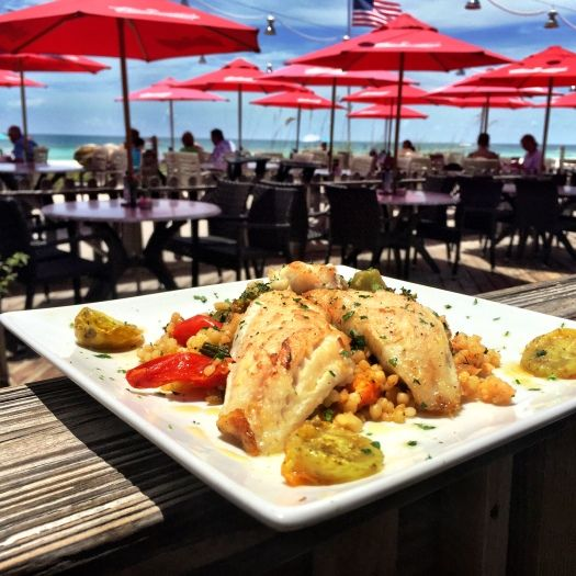 Pan seared lion fish has been served at the beach house for Local fish restaurants