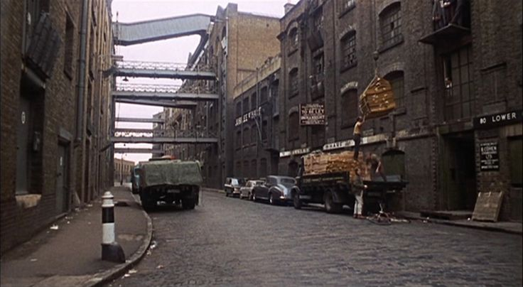 Wapping High Street, when it was still a working area.