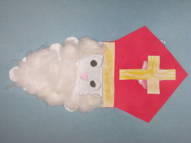 Saint Nicholas – book and craft