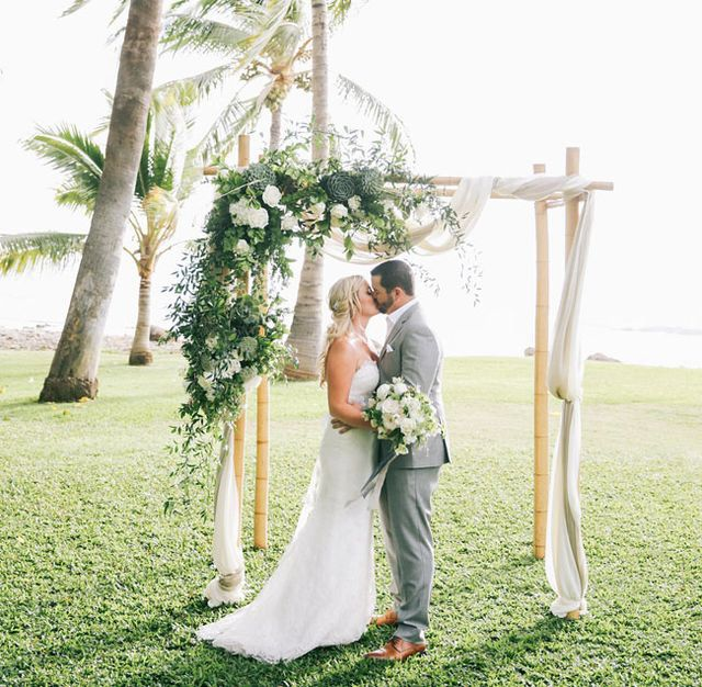 Hawaiian Wedding Altar: 97 Best Images About Wedding Altar // Arch // Chuppas On
