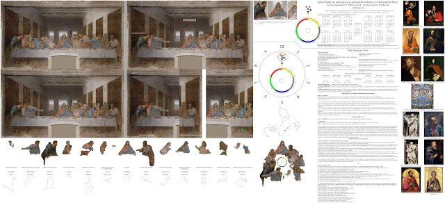 """Πιθανή λύση του μυστηρίου του Τελευταίου Δείπνου η του Μυστικού Δείπνου της τοιχογραφίας """"L'Ultima Cena"""" του Λεονάρντο ντα Βίντσι (Έκδοση: 13). Σε υψηλή ανάλυση και ποιότητα: http://www.tachmalex.gr/possible-solution-of-mystery-of-last-supper-of-the-mural-painting-L-Ultima-Cena-by-Leonardo-da-Vinci.html"""