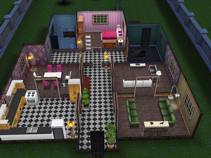 38 best Sims Freeplay House Ideas images on Pinterest ...
