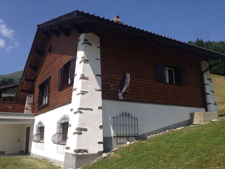 Bossi + Co. AG, Alvaneu Dorf, Region Albulatal, Malergeschäft, Malerei, Dekorationsmalerei, Sgraffito, Holzschutz