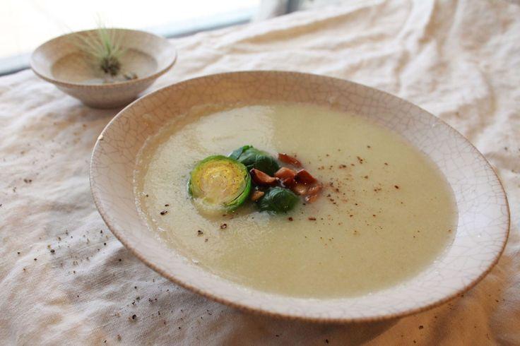 【モデル飯①】ダイエット中にもぴったりのスープレシピ