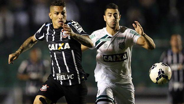 Con gol de Paolo Guerrero: Corinthians venció 2-0 a Atlético Mineiro por Copa Brasil #Depor