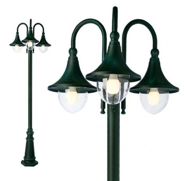 Corpuri de iluminat exterior STALP NEGRU 3XE27 VARESE 9794 REDO.9794