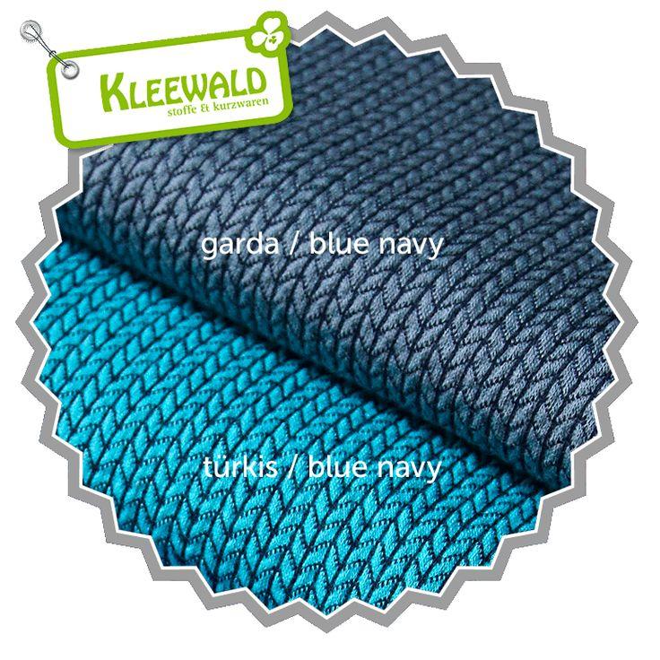 HIPSTER SQUARE Knit Knit / türkis-blue navy / GOTS