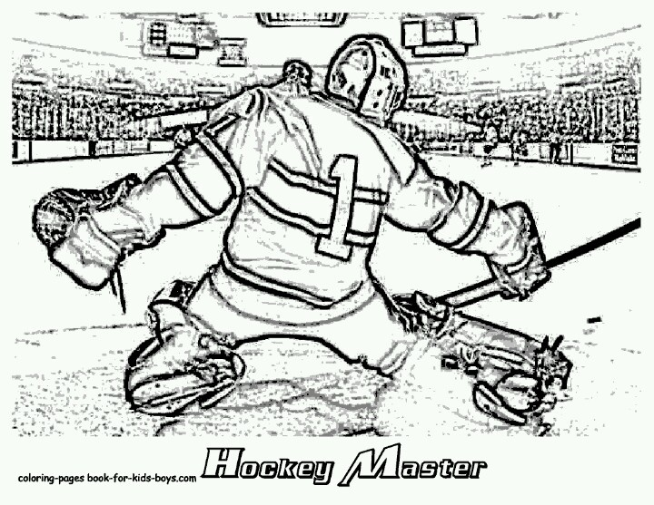 54 best Goalie mom images on Pinterest Hockey, Ice hockey and - new coloring page of a hockey player