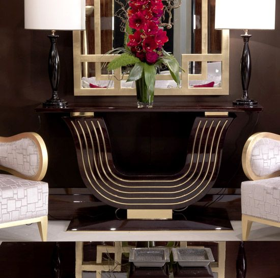 27 Dramatic Console Tables By Taylor Llorente