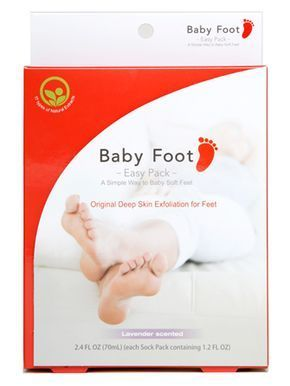 Baby Foot Peel-this actually works! It's kinda gross but awesome at the same time. My feet peeled like a snake & Now, Baby Soft!