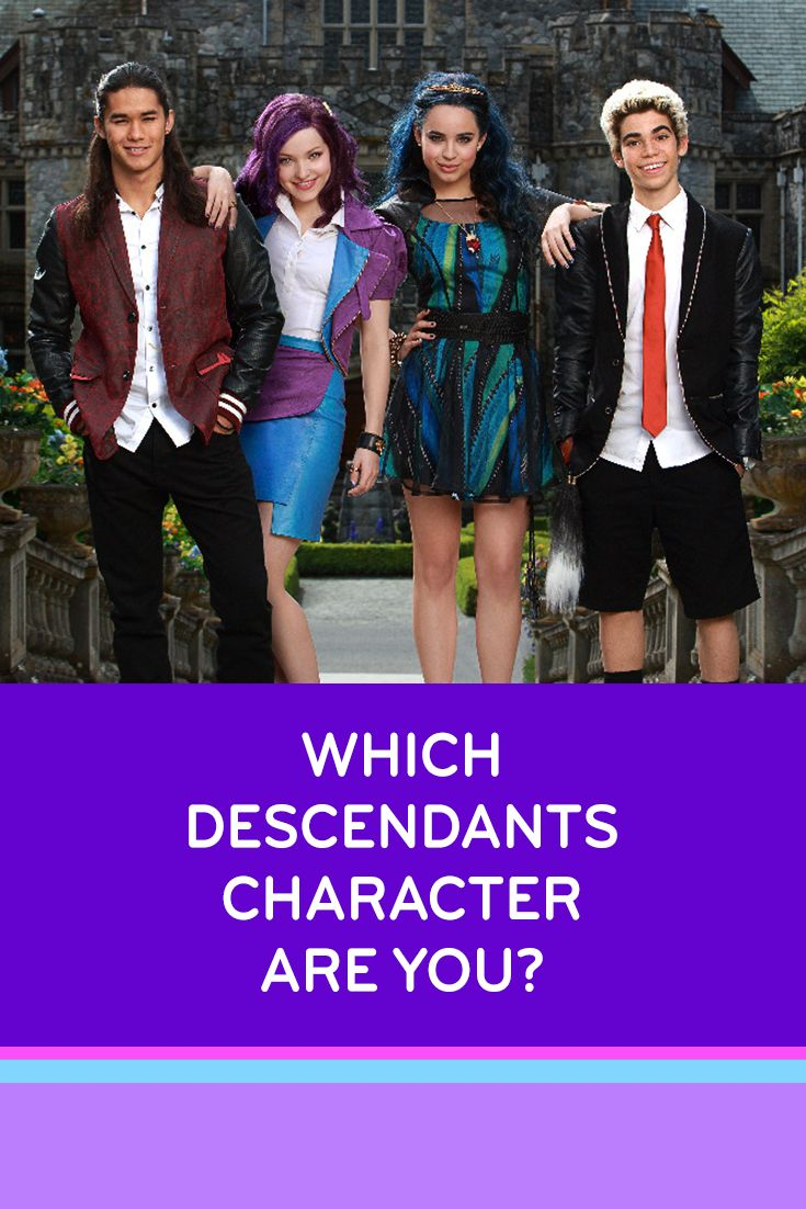 Quiz: Which Disney Descendants Character Are You?