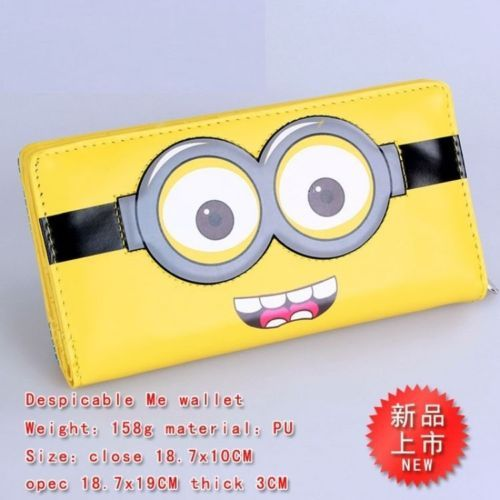 Cattivissimo Me Despicable Me 2 Portafoglio Wallet Peluche Plush Minions Bag 1 | eBay