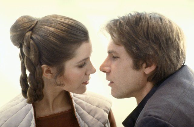"""Harrison Ford & Carrie Fisher in """"Star Wars: Episode V - The Empire Strikes Back"""""""