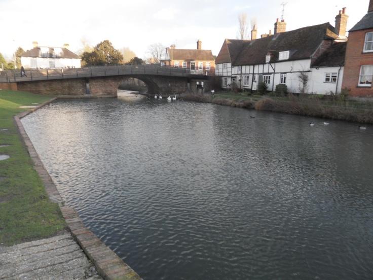 Hungerford Town Bridge. Kennet and Avon Canal. Berkshire. England. 2013. Hungerford & Return (7 nights) - Aldermaston Wharf.