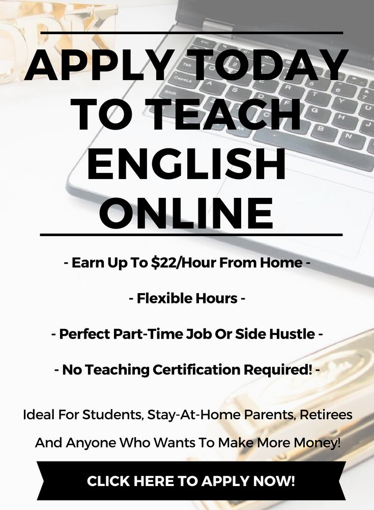 Apply Now To Teach English Online With Images Teaching English