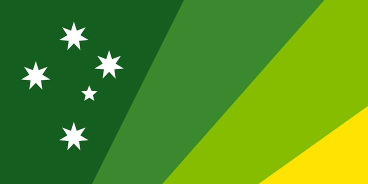 Australian Flag Proposal _ Design: Kas Hodges (2015)