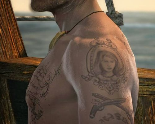 Edward Kenway Tattoos | Assassin's Creed | Pinterest ...