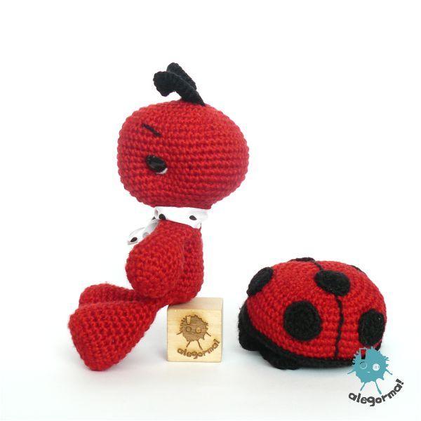 Amigurumi Ladybug : 17 best images about Amigurumi ladybirds / ladybugs on ...