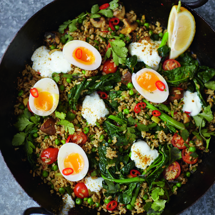 Jamie Oliver's Vegeree Not Kedgeree - Woman And Home