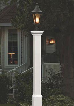 28 best post lights images on pinterest lanterns exterior new england arbors madison lamp post in white aloadofball Choice Image