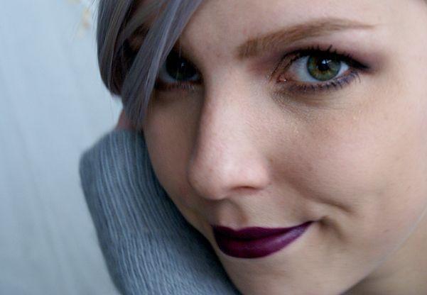 Dnešní Makeup: Purple Smog http://getthelouk.com/?p=3652
