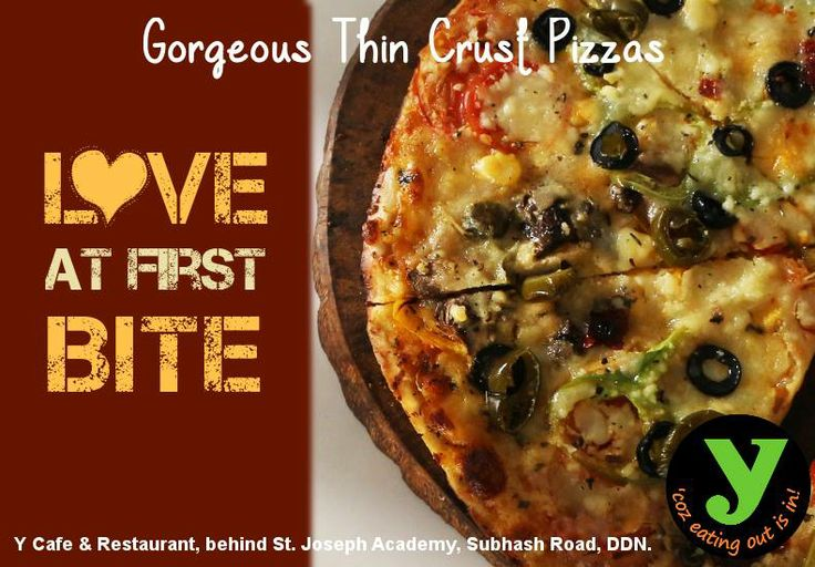 Visit Y Cafe & Restaurant And enjoy Yummy italian Pizza..!! I #LOVE #PIZZA! https://www.facebook.com/photo.php?fbid=816601668351202&set=a.729871840357519.1073741825.729868650357838&type=1