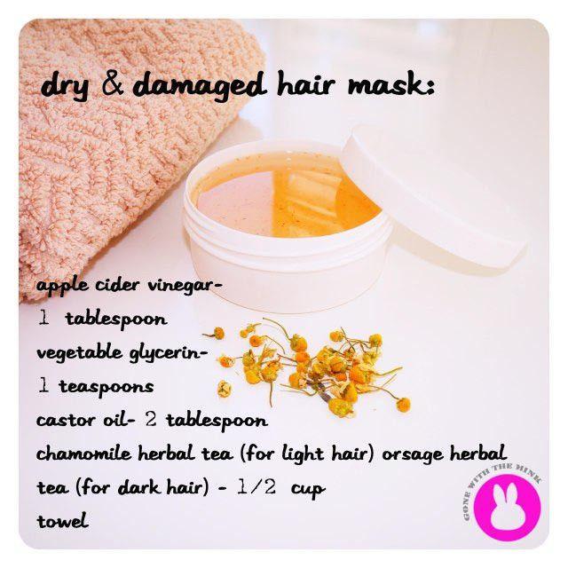 Diy Dry Damaged Hair Mask For More Vegan Fashion Https