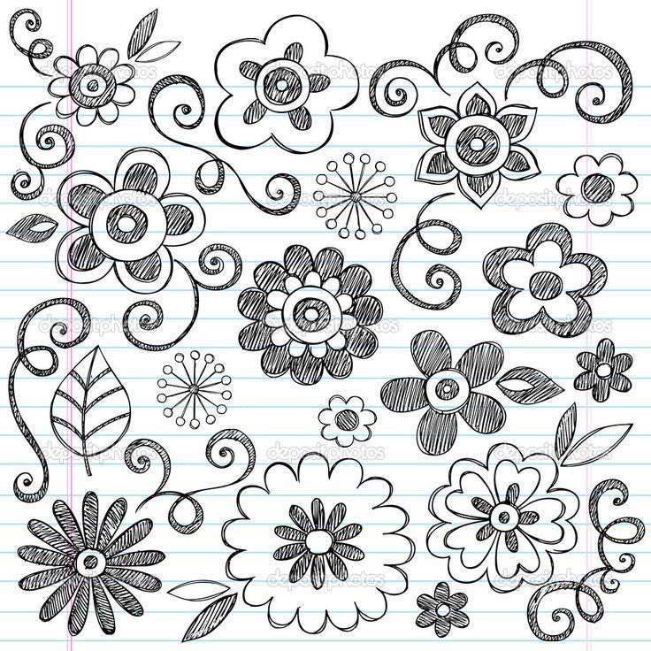 The 25 Best Doodle Flowers Ideas On Pinterest