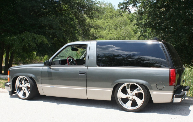 Two Door Tahoe >> 11 Lowered Two Door Tahoes We'd Take For a Sunday Cruise: GM Parts Online - Wholesale GM Parts ...
