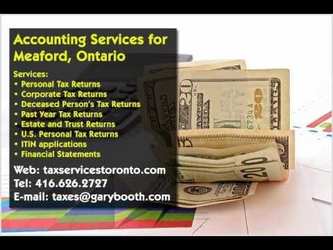 Meaford | Accounting Services | 416-626-2727 | taxes@garybooth.com