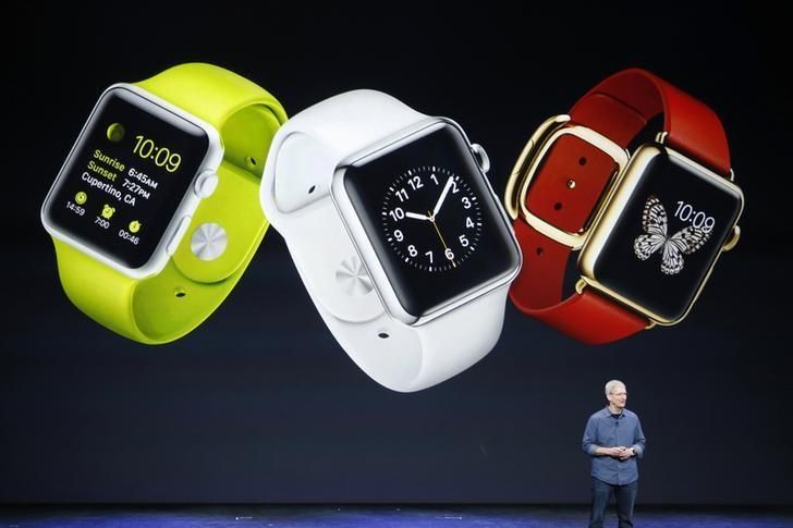 UPDATE 1-Apple Watch sales to consumers set record in holiday week, says Apple's Cook #Tech #iNewsPhoto