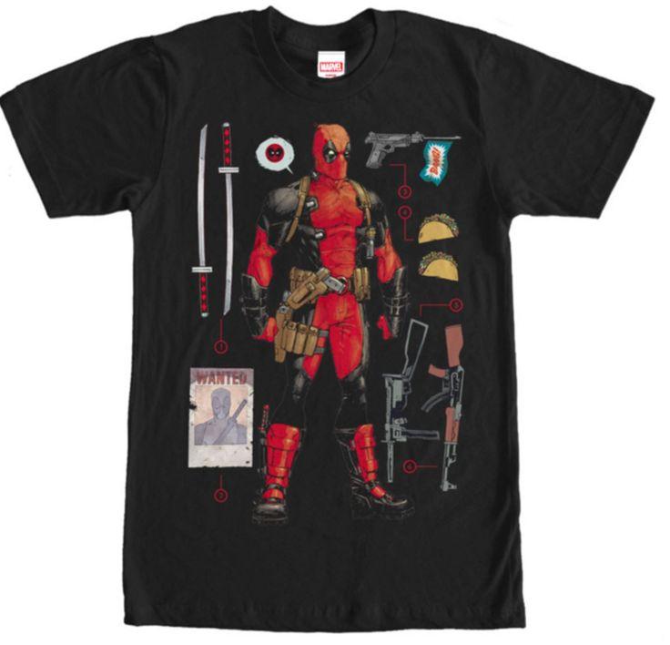 Deadpool Accessories T-Shirt