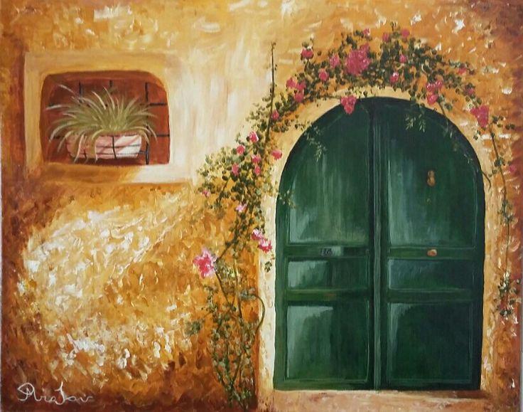 Πράσινη πόρτα
