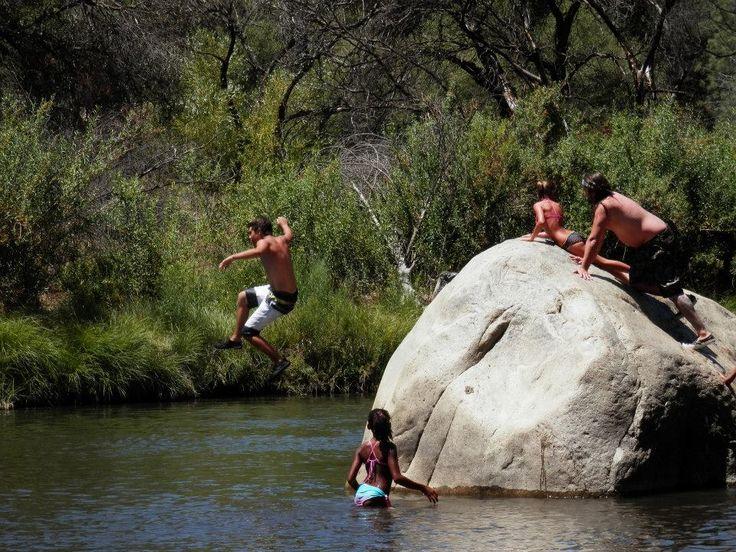 Kern River camping!