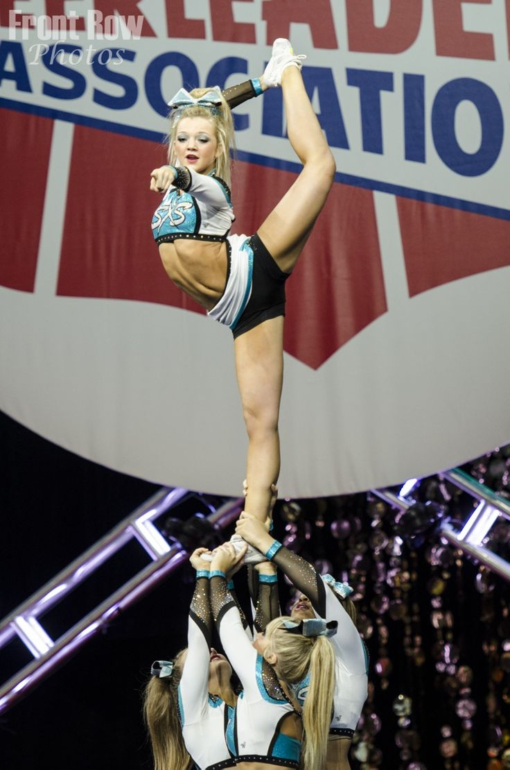 Cheer Extreme Small Senior X (Sharks) SSX 2014 NCA national championship
