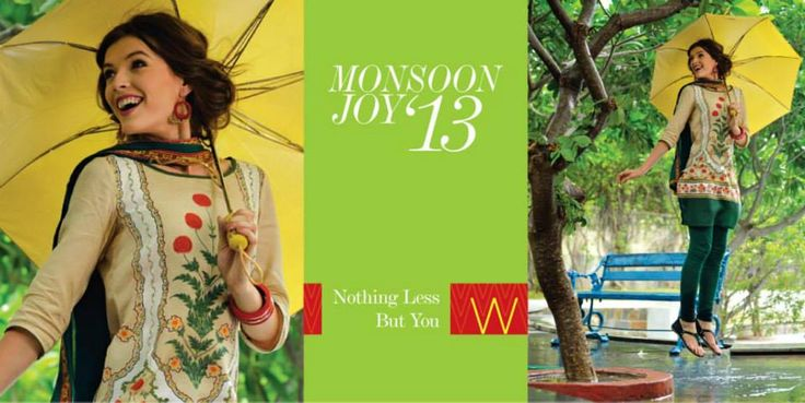 Blast of colours, style, class & fashion all in W's Monsoon Joy Collection 2013. Now in store & online www.shopforw.com  #fashion #shopping #ethnicwear #MadeinIndia