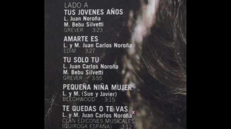 TE QUEDAS O TE VAS - GUILLERMO CAPETILLO (mujer- 1982)- letra