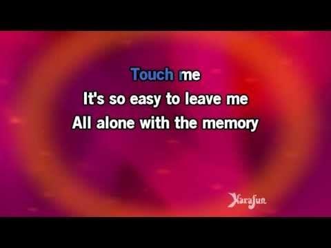 Download MP3: http://www.karaoke-version.com/mp3-backingtrack/barbra-streisand/memory.html Sing Online: http://www.karafun.com/karaoke/barbra-streisand/memor...