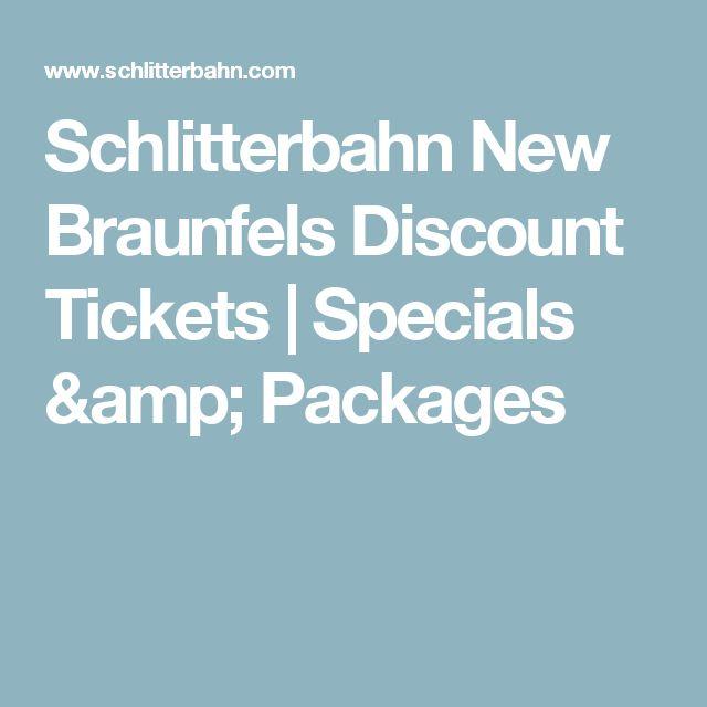 Schlitterbahn new braunfels discount coupons