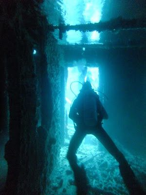 Diving the Thistlegorm wreck in Egypt